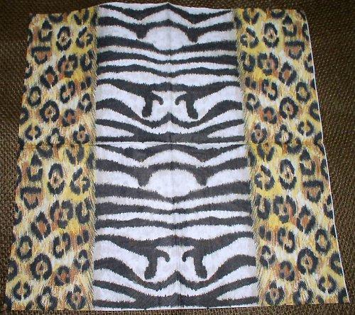 Ubrousek U379 tygr a zebra