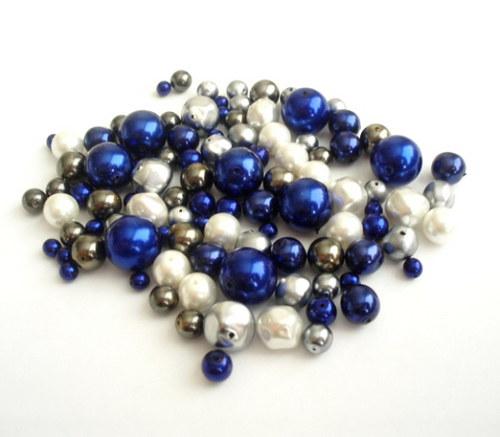 Mix voskový modrý 2