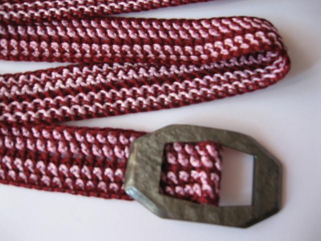 Háčkovaný pásek Adéla