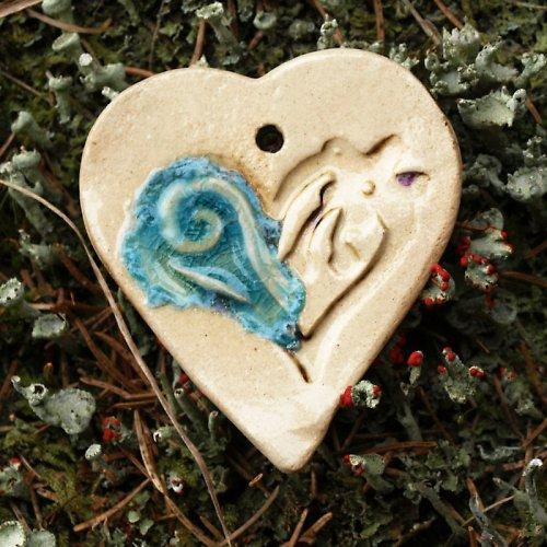 Srdce zalévané sklem: k dalšímu tvoření