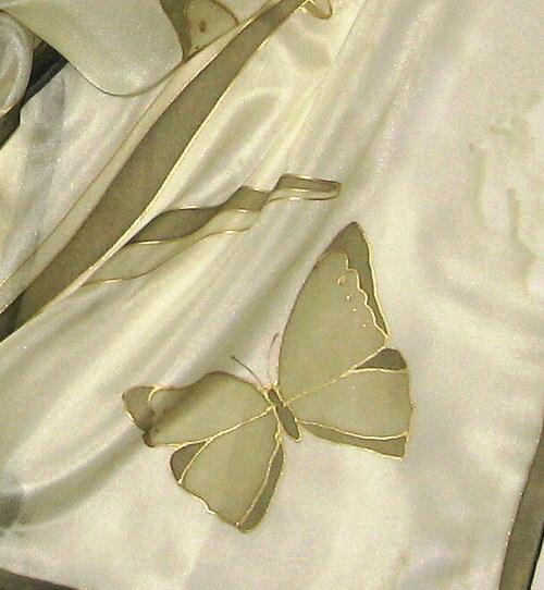 Motýli v zelené 40x150 cm