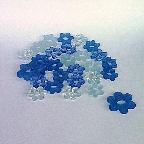 Kytička plast MIX Ø 2-3cm 15ks