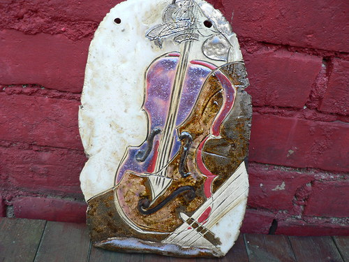 Na housle..?