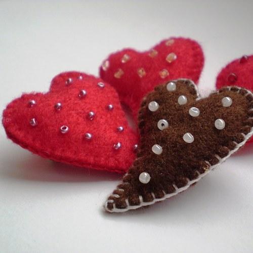 Srdce s perletí