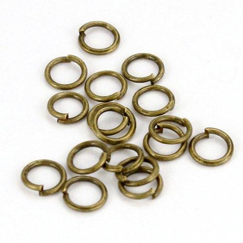 Bronzové kroužky 5 mm (50 ks)