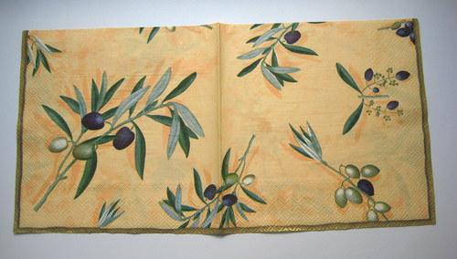 Ubrousek - Řecké olivy