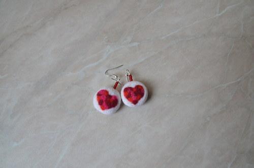 Valentýnka v bílé