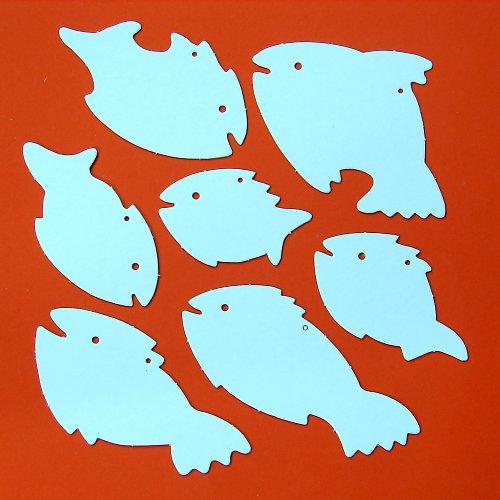 Závěsné rybky 10 archů