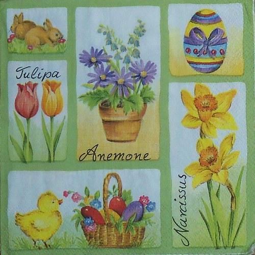 Velikonoční kytičky