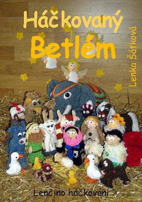 KNIHA: Háčkovaný Betlém