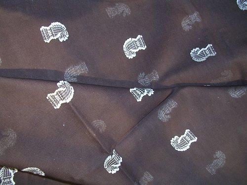 Jemná látka - bavlna/polyester - 1,35 x 1,05 m