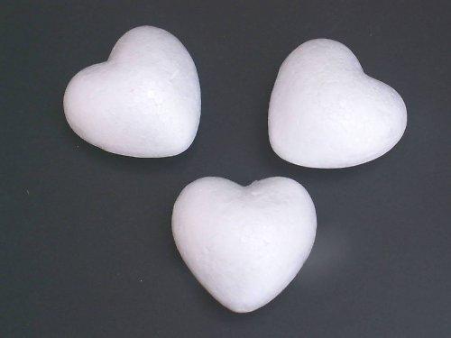 Polystyrenové srdíčko Ø 10 cm