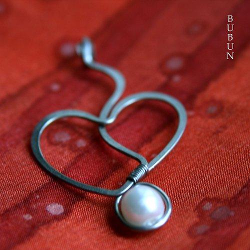 Srdce s perličkou