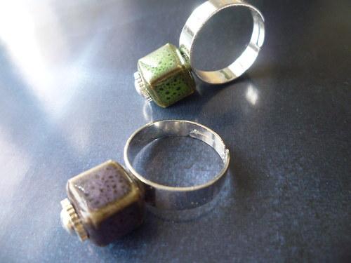 Levandulová výměna - prsten