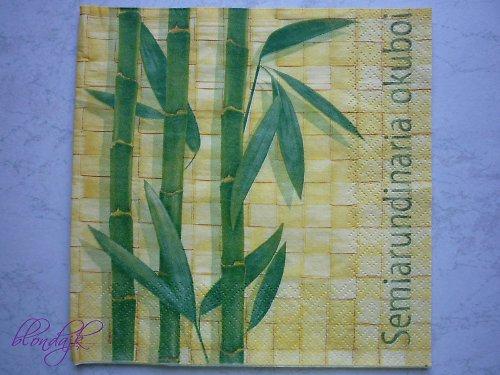 Ubrousek - bambus