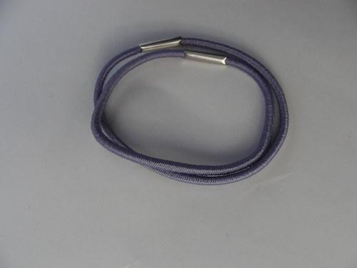 Gumička do vlasů, fialová 0,2 cm