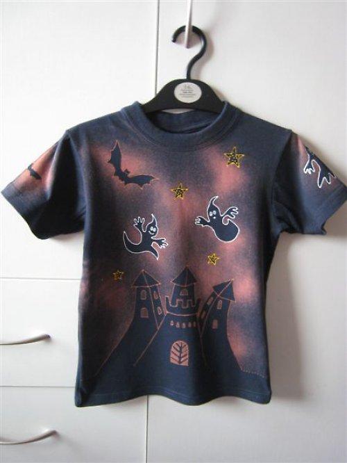 Dětské tričko-staršidelný hrad