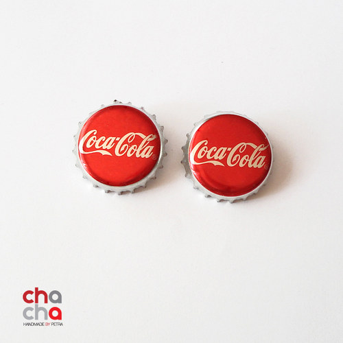 NáušniceCoca Cola - pecky