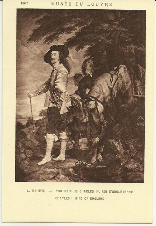Umělecká pohlednice A.Van.Dyck