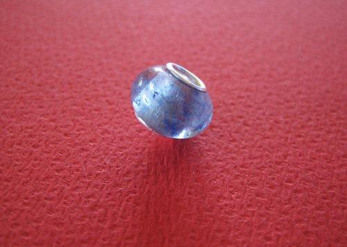 Korálek - jádro AG 925-čírá-modrý