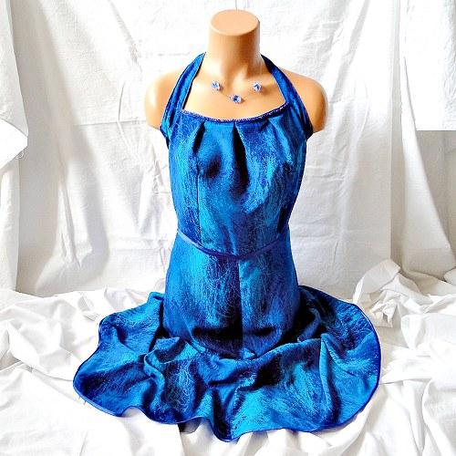 "Šaty \""Blue lagoon\"" - sleva z 1110,-"