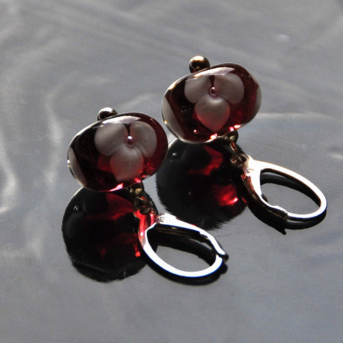 Náušnice s vinutkami  Evelína - stříbro Ag 925
