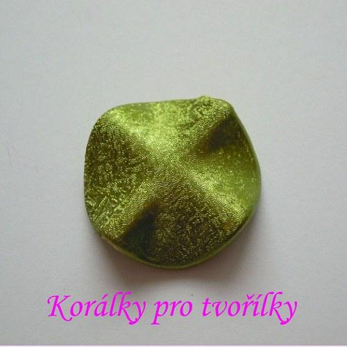Kolečko s vlnami zelené 1ks/5,- Kč