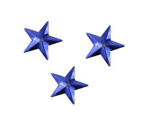 Flitry - modrá hvězda s dírkou (329-312)     3 g