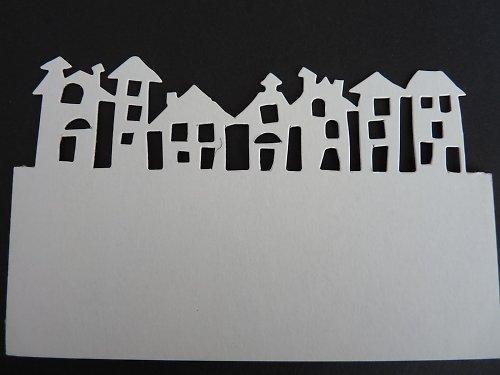 Okrajový výsek - domečky