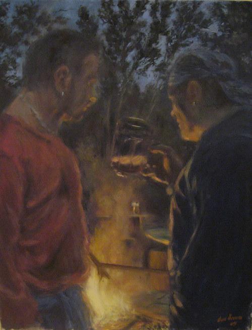 Jan Severa -  Přátelé