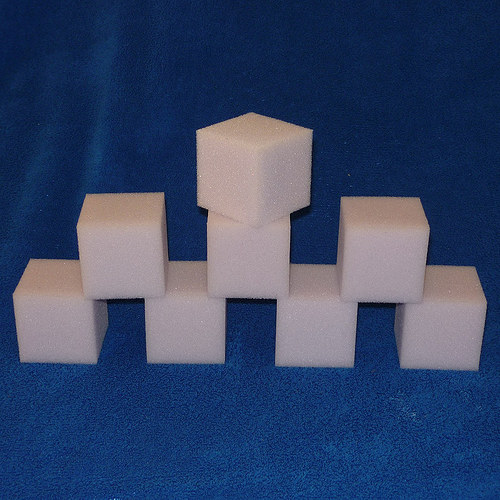 Molitanové kostky 5x5x5 cm - sada 8 kostek