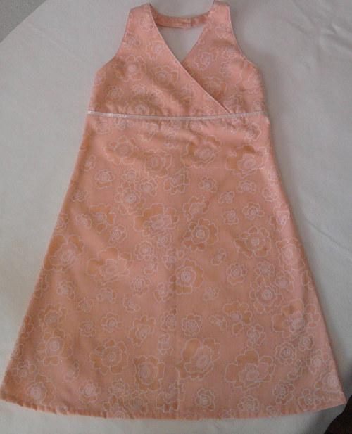 Dívčí šaty vel.128