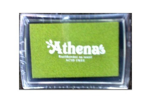 Razítkovací polštářek pro tisk na textil limetková