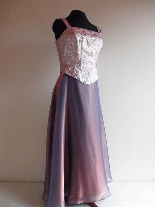 Plesové šaty korzetové 181 - vel. 40