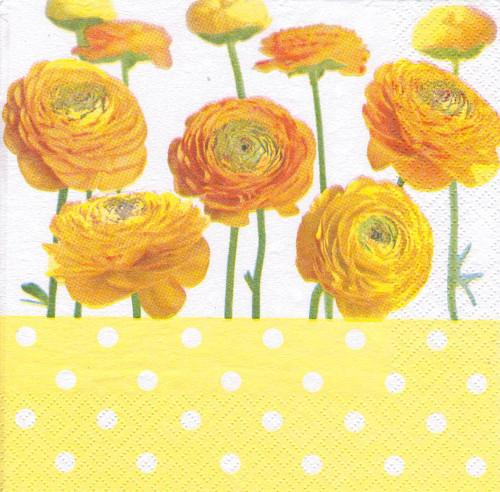 Ubrousek - květiny (2 ks - VÝPRODEJ)