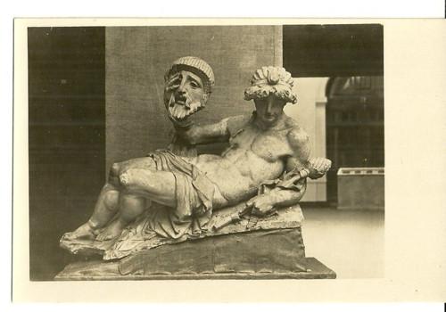Umělecká pohlednice socha J.V.Myslbek Drama