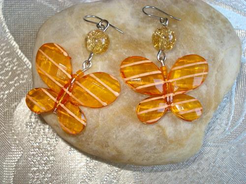 oranžoví motýlci SLEVA!