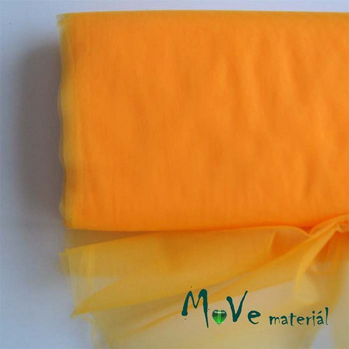 svatební tyl jemný světle oranžový 50 cm/ š280 cm