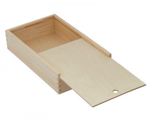 Dřevěná krabička s odsouvacím víčkem DL139
