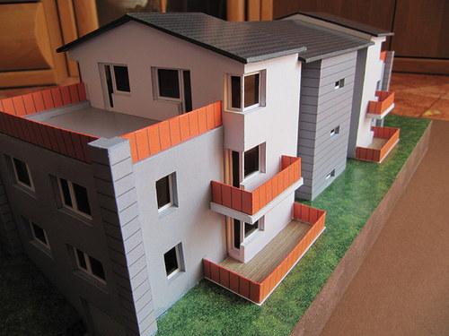 Vystřihovánka - model Vašeho domu - na zakázku
