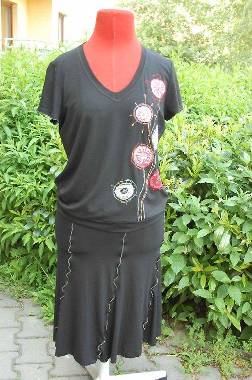 letní dvoudílné šaty -vel.40-42