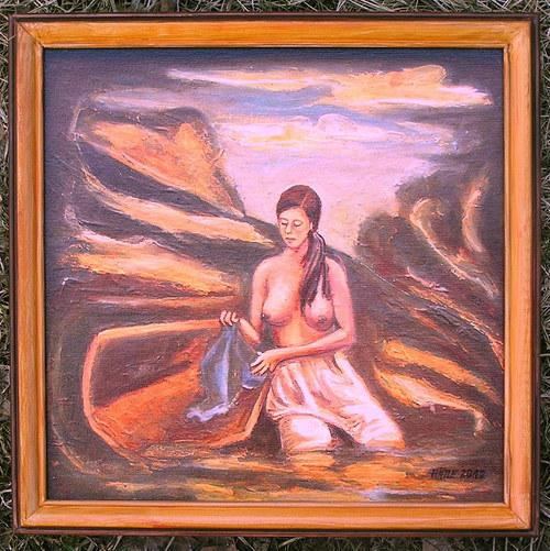 Obraz Pradlena (Zmenšenina)