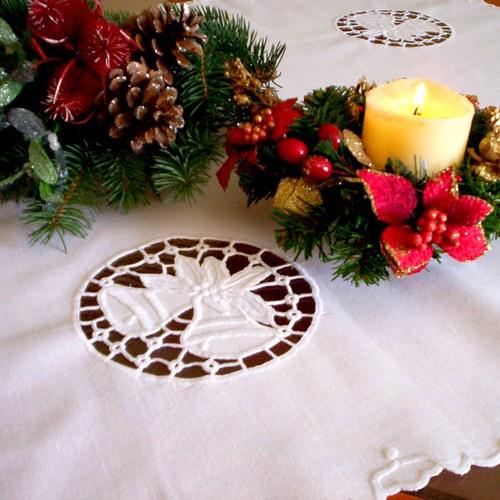 Vánoční zvonečky s lemováním