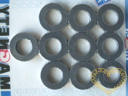 Magnet kulatý s otvorem - sada 10 kusů