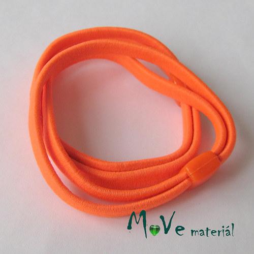 Sada plochých gumiček na úpravu, 2ks, neon oranž