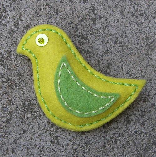 Žlutý ptáček Aabi