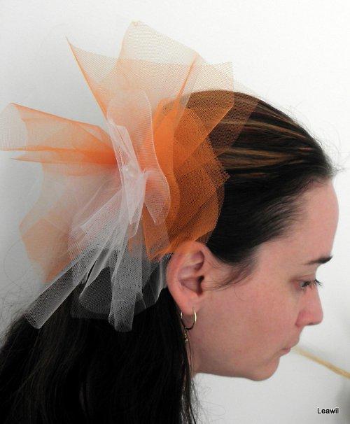 Pro odvážnou nevěstu bílooranžová