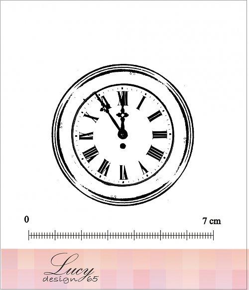 Razítko hodiny - Už je čas :-)