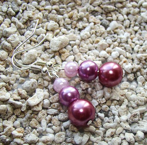 náušnice perličkové