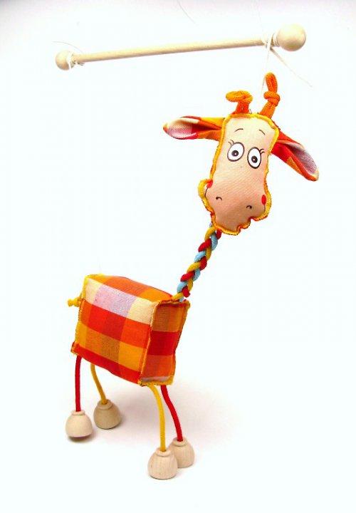 Tm 016 Žirafa loutka